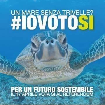 Referendum. Un mare senza trivelle? Il tuo voto!