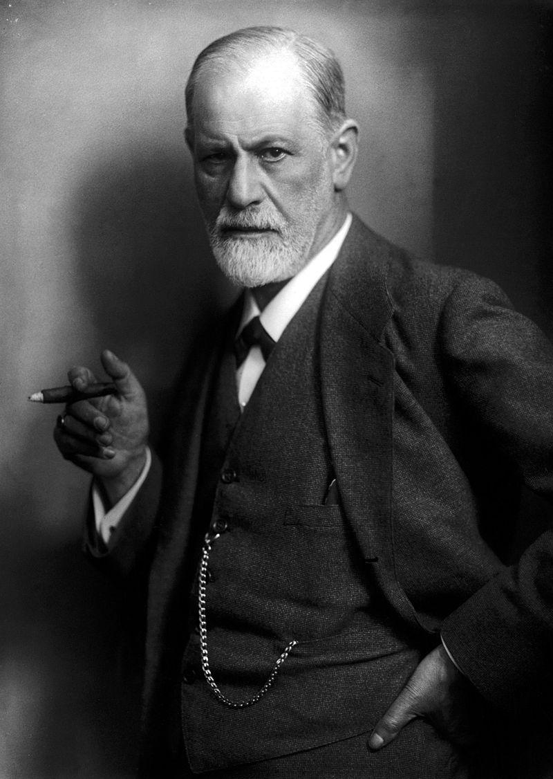 Sigmund Freud. (oggi Anniversario Nascita).
