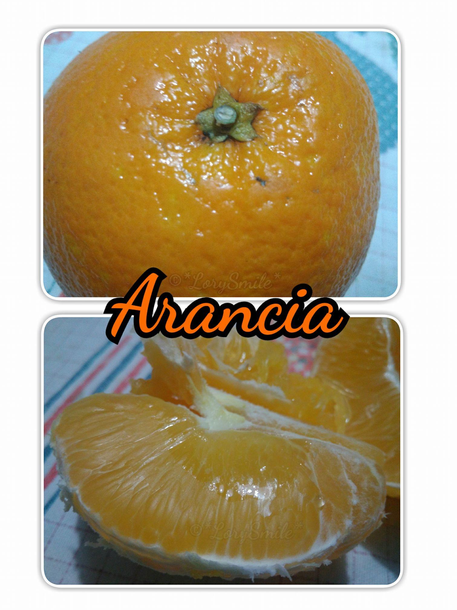 Arancia & Vitamina C !